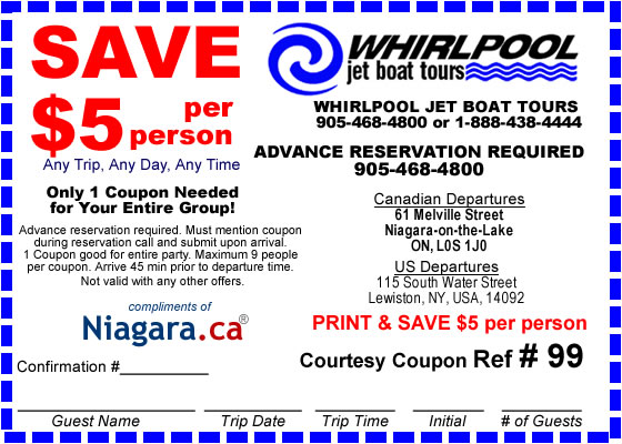 Niagara falls adventure pass discount coupons