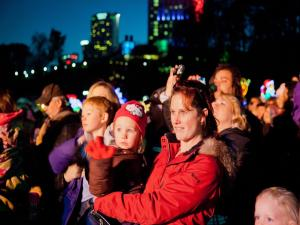 Winter Festival of Lights Niagara Falls 2014 - WFOL