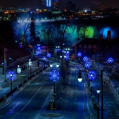 Winter Festival of Lights Niagara Falls 2014